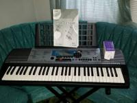 Like new Yamaha keyboard and stand