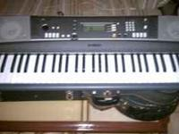 Yamaha keyboard $100, very good sound.  NO emails will
