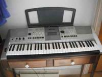 Like new Yamaha PSR E413. Very rarely played. If