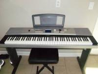 yamaha DGX-520 88 key keyboard  Location: Defeated