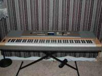 "This is a Yamaha YPG-635 ""Portable Grand Piano"" It has"