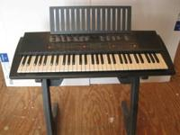 Yamaha Keyboard Complete portable electronic with many