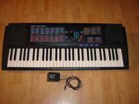 For Sale: Yamaha PSR-180 Keyboard. Very little use. All
