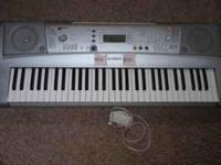 Yamaha Keyboard like new, barely used. This keyboard
