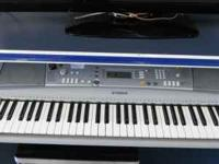 Yamaha keyboard in great shape. Comes with the wall