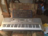 Gently used Yamaha Keyboard 61 keys, Listen and learn