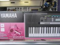 We have yamaha keybord arranger still in box.  Kindly