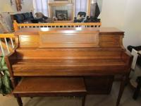 Price: $1,600 Yamaha M212 Console Piano Location: Lee's