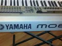 I have a Yamaha MO 8 Keyboard. It was only used on