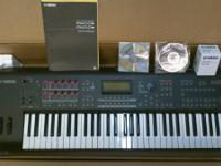 Yamaha MOX6 Music Production Synthesizer. I got this
