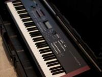 You are looking at a Yamaha MOXF8 88 Key Workstation. I