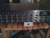 Great line level rackmount mixer. Very good condition.