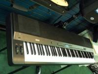 Used Yamaha pro portable digital 88 weighted key piano,