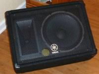 "1x Yamaha BR12M 12"" Speaker Monitor for sale. Gigged"
