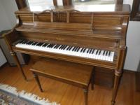 Very nice Yamaha Piano and bench for sale.  Well taken