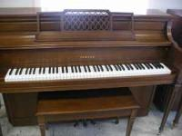 Pre-owned Yamaha pianos with bench - all one owner