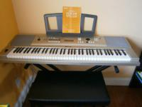 All inclusive Yamaha Portable Grand Keyboard