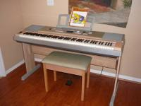 FOR SALE: Yamaha Model YPG-625 Portable Grand Piano.