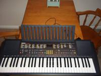 "Yamaha keyboard works great. It measures 36.5"" long,"