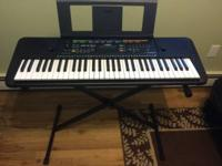 For sale is a Yamaha PSRE253 61-Key Portable Keyboard