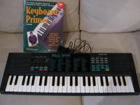 Selling a Yamaha keyboard. Built-in amp and speakers.