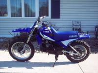 YAMAHA PW80, OIL INJECTED TWO STROKE, 3 SPEED AUTO,
