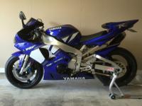 2001 YAMAHA R1 1300 ORIGINAL MILES.Motorcycle