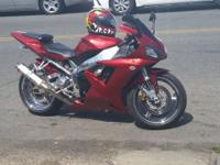 2002 YAMAHA R1 VERY POWERFUL BIKE! JUST TUNED HIGH