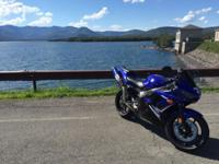 2008 Yamaha YZF-R6 with only 10,407 miles. $4200 Team