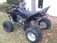2006 Yamaha Raptor 350 This is my wife's Glamis quad