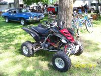 I am offering my Real Nice 2003 Yamaha Raptor 660 RR