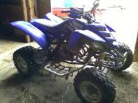 I am selling a 2004 Yamaha Raptor 660r it has been