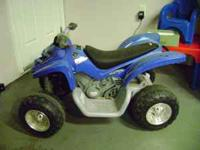 This is a fantastic ATV for kids holds up to 130