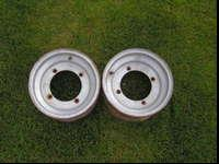Pair of front wheels for Yamaha, was on a Raptor,