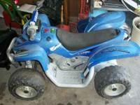 I have a Yamaha Raptor Power Wheels toy. Needs a