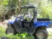 Yamaha Rhino(2009) for sale for 9,000 or best offer.