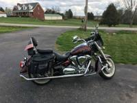 I am selling my 2001 Yamaha Roadstar 1600. My wife and