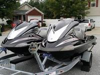 """::~""""~{>Jet skis in good condition, They only have 161"""