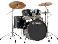 My husband has a Yamaha Stage Custom 5-piece Drum Kit