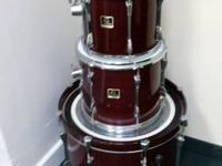 I have a 5 piece Yamaha Stage Custom drum set for sale.