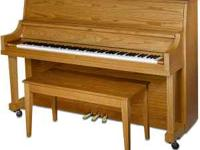 Yamaha Studio Piano Model P22T-LAO. Beautiful piano in