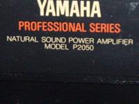 YAMAHA Studio Power Amp For Sale: > Yamaha P2050 Power