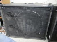 "Selling my 18"" PA speakers! 220 a piece or a package"
