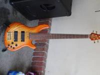 Yamaha 5 string bass in great shape... Do the research