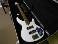 For Sale is a Yamaha TRBX304 Bass Guitar w/Harshell