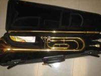 I'm selling a used Yamaha Trigger Trombone. I played