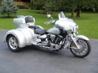 Bought New In 2012 2009 Yamaha Roadliner, Light Gray