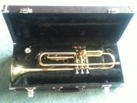 Yamaha trumpet and case, plays great have any questions