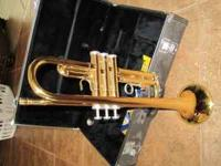 TRUMPET!! Hardly used, like new trumpet with the