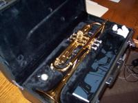 Excellent condition Yamaha trumpet.  Purchased